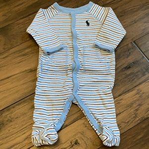 Polo infant boy sleeper